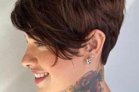 Bold Style of Short Pixie Haircut to Copy Now