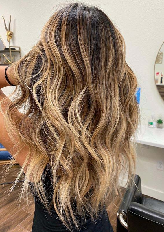 Dimensional Balayage Hair Colors and Styles for Women in 2020