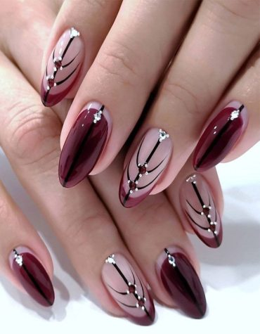 Romantic Look of Red Nails & Images you can Try Now