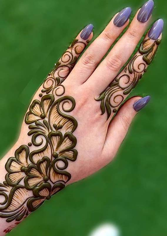 Adorable Mehndi Designs for Girls to Follow