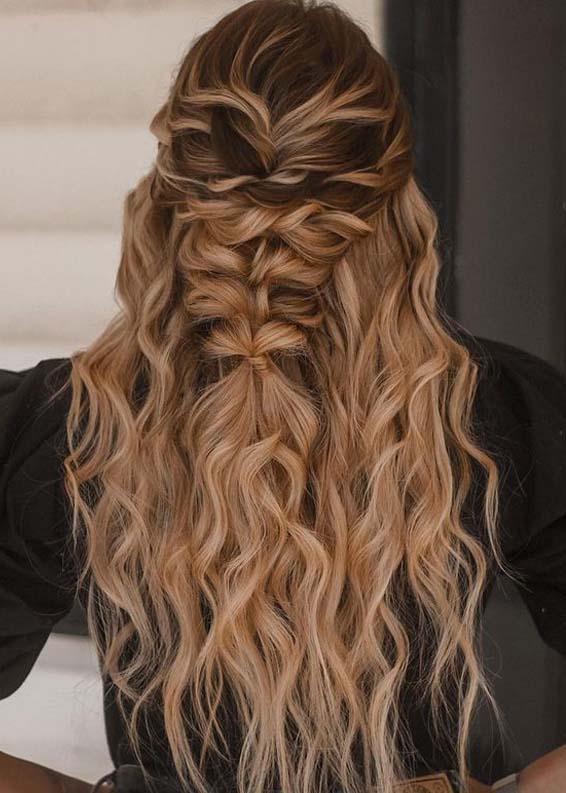 Best Half Up Wedding Hairstyles Trends