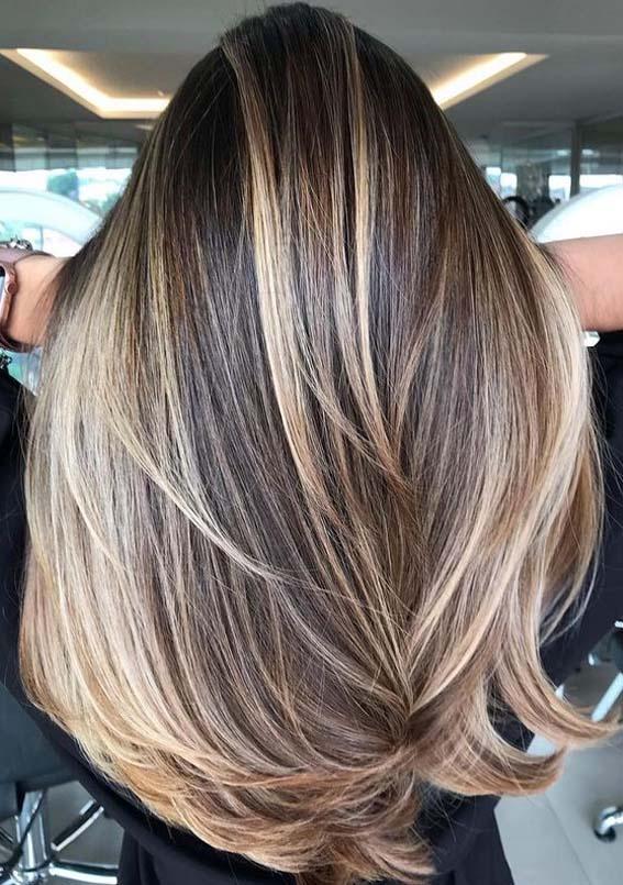 Adorable Balayage Hair Color Ideas to Follow in Year 2021 | Stylezco