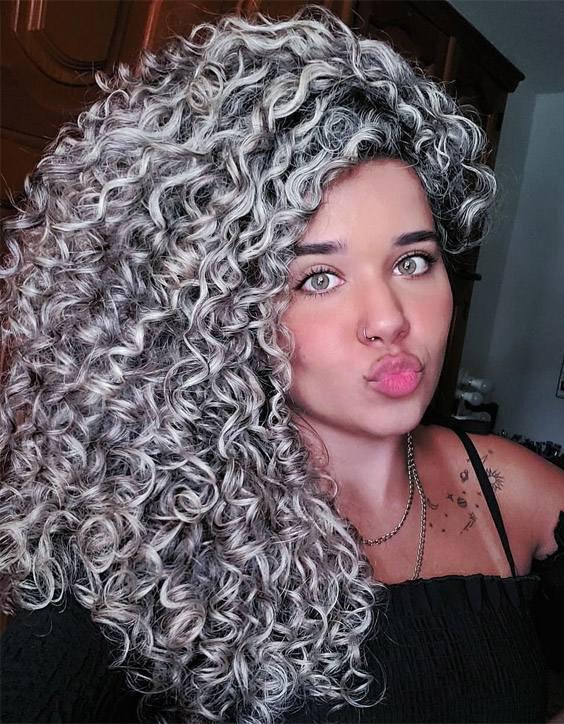 Fresh look of 2021 Curly Hair for Medium Hair