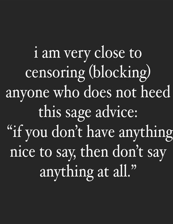 Then Don't say Anything At All - Best Quotes & Saying