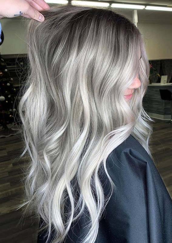 Fantastic Silver Hair Color Ideas to Show Off