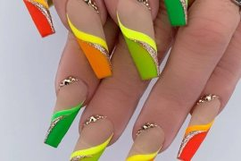 Gorgeous Colorful Nail Ideas for Stylish Girls