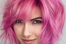 Fantastic Pink Bob Haircuts for Girls