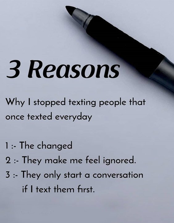 Only Start a Conversation - 2021 Text Quotes