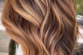 Best Caramel Lob Haircuts for Girls to Follow