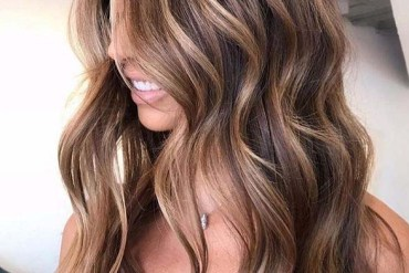 Pretty Brunette Balayage Hair Color Shades