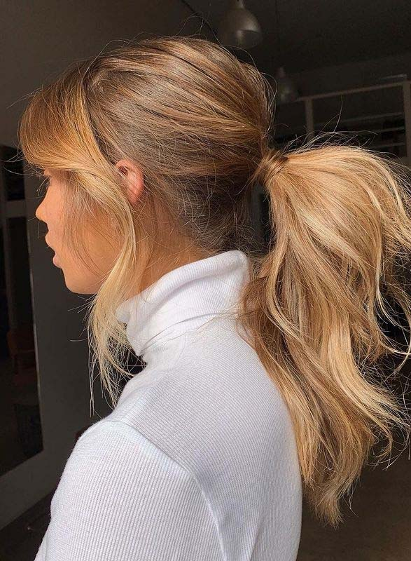 Perfect Messy Ponytail Hair Styles for Girls