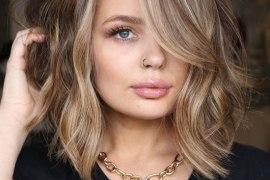 Lovely Medium Hair Color & Haircuts