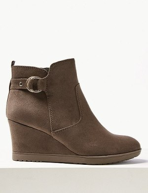 Marks & Spencer Wedge Heel Ankle Boot