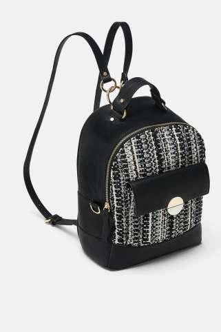 Zara Tweed Black Backup
