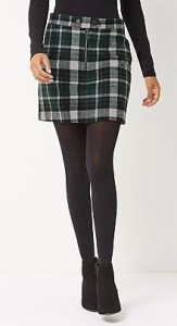 George @Asda Green Check Skirt