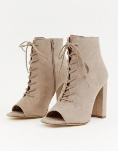 New Look Lace Up Shoe Boots