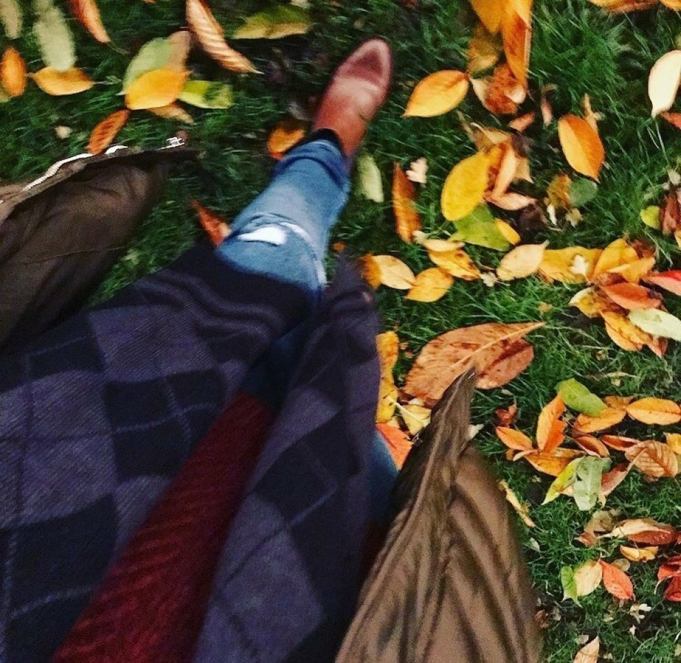 Walking In The Leaves