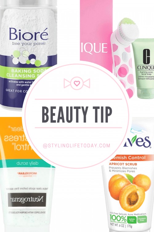 Beauty Tip: Benefits of using a face scrub