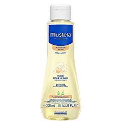Mustela Baby Bath Oil for Dry Skin