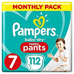 Pamper Baby Dry Nappy Pants