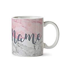 Personalised Marble Mug