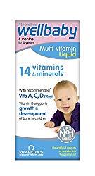 Vitabiotics Wellbaby Multi-Vitamin Liquid, 150 ml