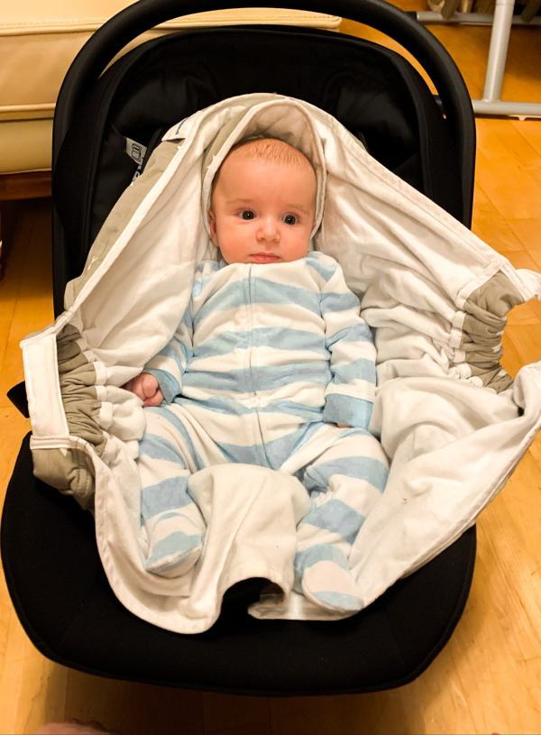 Snugglebundl Baby Wrap Blanket- Gifted Product Review