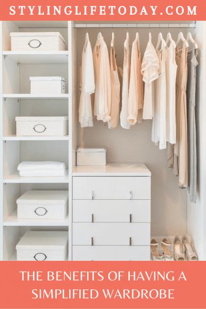 simplified wardrobe