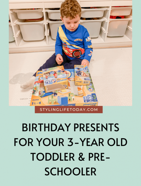 Gift Guide: Birthday Presents For 3-Year Old Toddlers