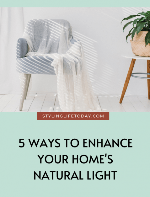 5 Ways To Enhance Your Home's Natural Light