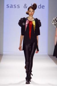 sass & bide Black Rats on the catwalk at New York Fashion Week Fall '08