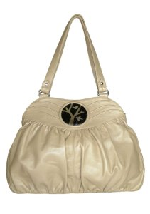 Luisa Clare Paloma bag in champagne $399