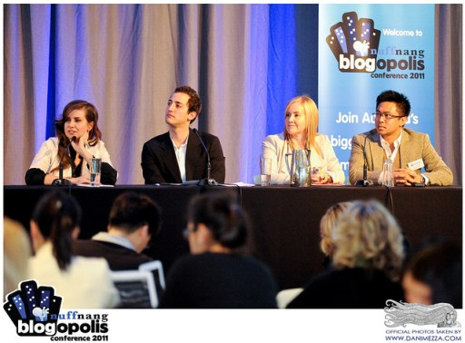 Editorial vs Advertorial panel at Blogopolis 2011