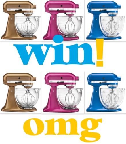 Win a KitchenAid Mixer on Justb. Australia