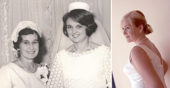 Three generations of jewellery - vintage Mikimoto pearls