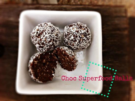 Choc Superfood Balls