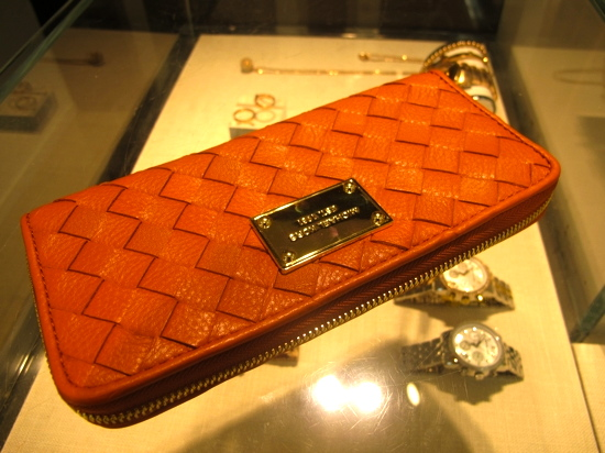 ... a new wallet. It's beautiful and it's orange.