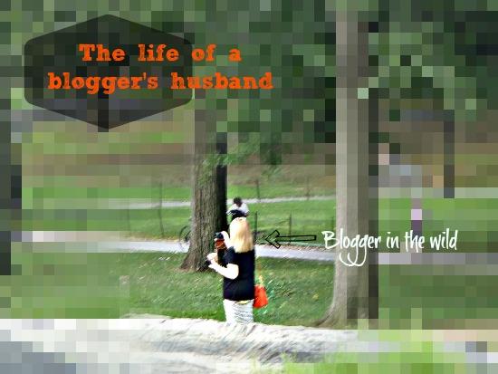 Husband of a blogger