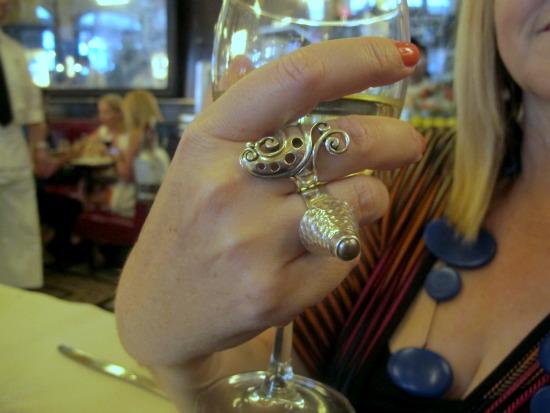 Renee Blackwell Design cocktail rings
