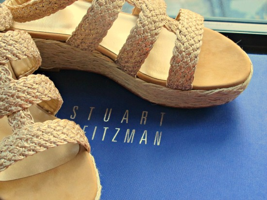 Stuart Weitzman shoes ordered for my arrival in New York