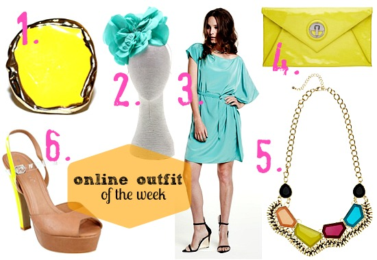 online outfit of the week spring racing fashion