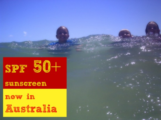 SPF 50 + sunscreen now available in Australia
