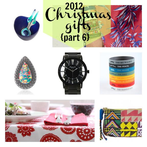 2012 Christmas gifts week 6