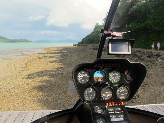 Helicopter flight | The Whitsundays | Queensland | Australia