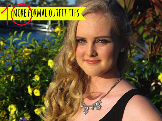 10 more formal outfit tips