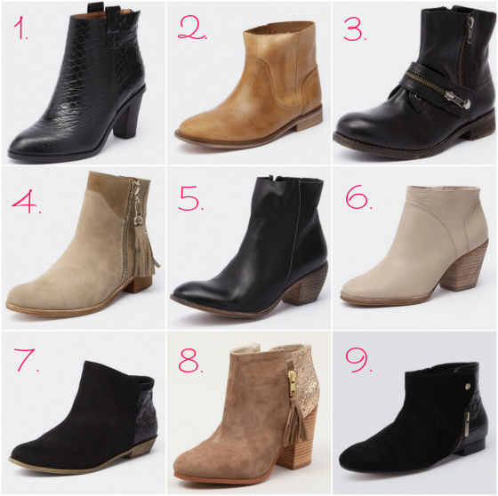 Ankle boots autumn-winter 2013