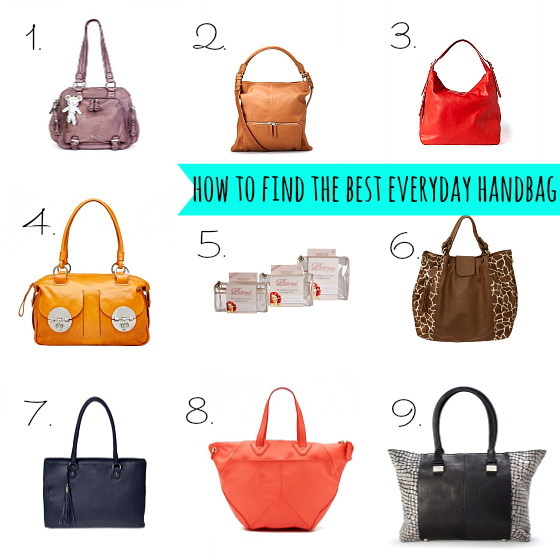how to find the best everyday handbags