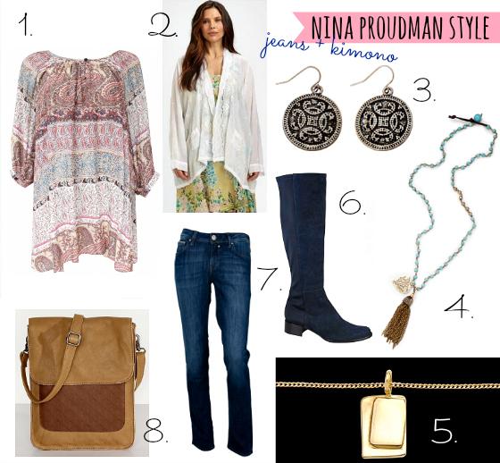 Nina Proudman style inspiration Series 4 ep 3
