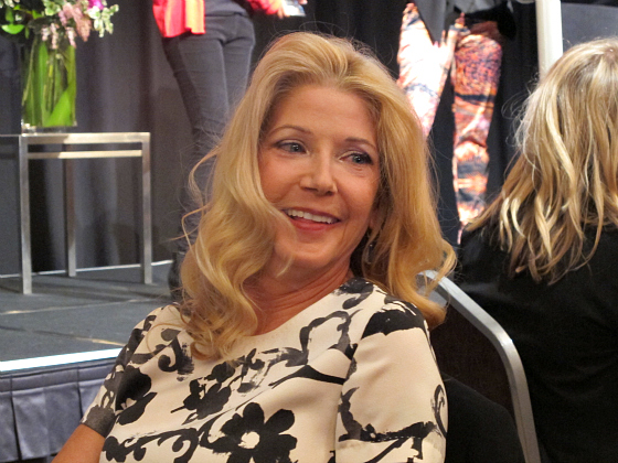 Sex and the City author Candace Bushnell at Business Chicks lunch Brisbane