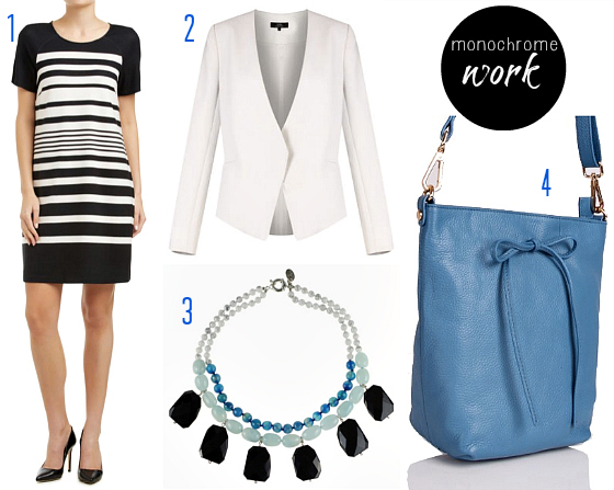 How to wear the monochrome trend - work
